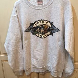 Vintage 90s Oregon trail crewneck sweatshirt xl